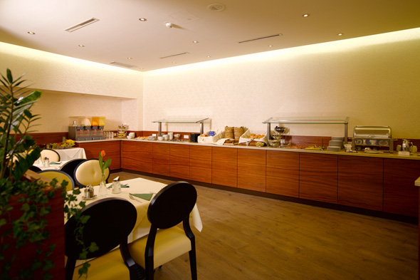 Breakfastbuffet at Hotel Drei Raben